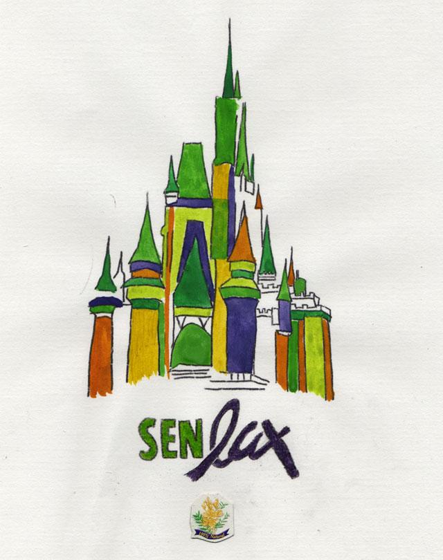 Cinderella Castle Drawings
