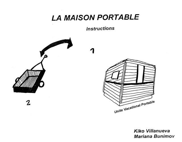 Maison Portable | © Mariana Bunimov
