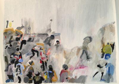 De la serie protestas en Venezuela - Las mercedes